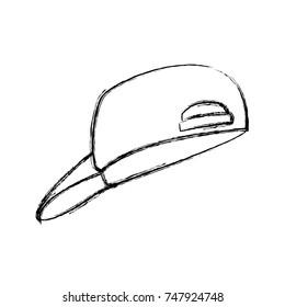 Hat cap isolated