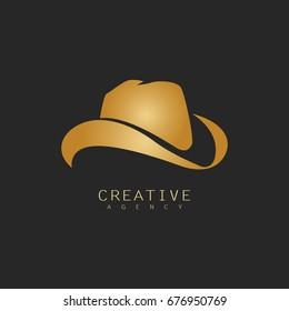 hat cowboy logo
