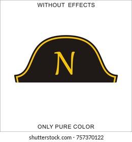 Hat of the dictator Napoleon