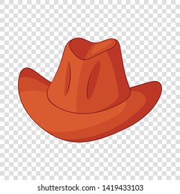Hat icon. Cartoon illustration of hat vector icon for web