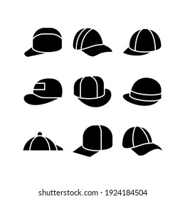 hat icon or logo isolated sign symbol vector illustration - Collection of high quality black style vector icons