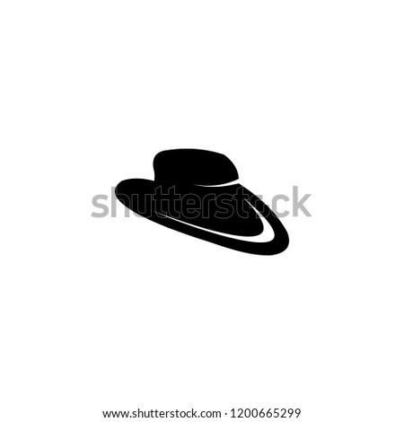 eb03dbd9f3b Hat Logo Vector Abstract Shape Template Stock Vector (Royalty Free ...