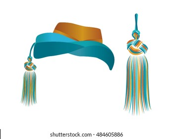Hat and Tassel, Vector
