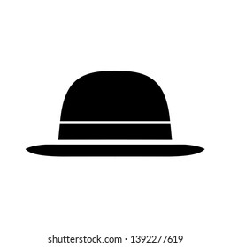 Hat Vintage Icon Vector Design Template