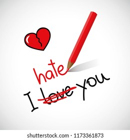 I hate love images hd download