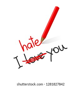 I Hate You Images Stock Photos Vectors Shutterstock