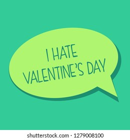 I Hate Valentine's Day - Vector