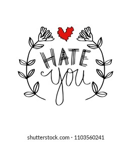 Royalty Free I Hate You Stock Images Photos Vectors Shutterstock