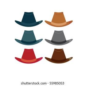 Hats 1 - vector
