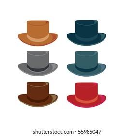 Hats 2 - vector
