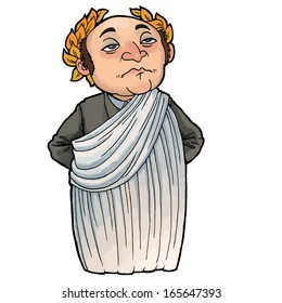 Cartoon Head, Outline, People, Man, Face, Person, Cartoon - Ancient Roman  Clip Art - Free Transparent PNG Clipart Images Download