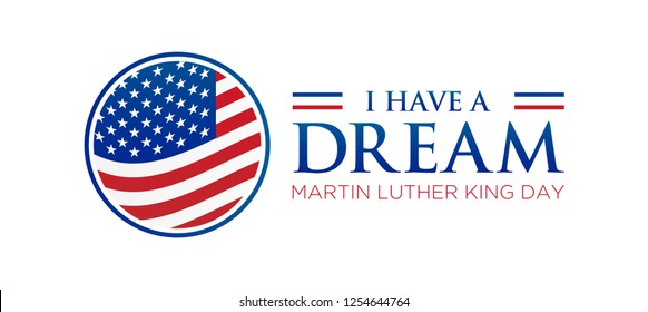I have a Dream Martin Luther King Jr. Day Icon