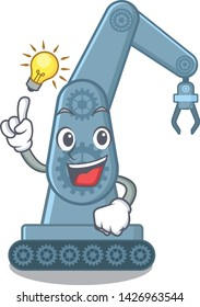 Have an idea toy mechatronic robot arm cartoon shape