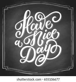 have nice day white hand 260nw 655106677 Black Coffee Good For You Good Morning Note Stock Vector Image