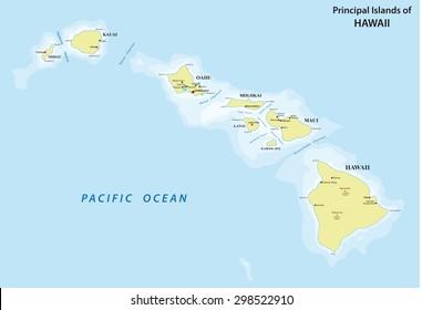 Hawaii map images stock photos vectors shutterstock hawaii map gumiabroncs Choice Image