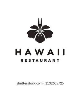 Hawaii Restaurant Logo design inspiration