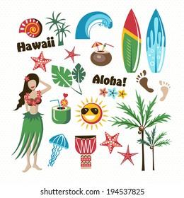 hawaii set aloha