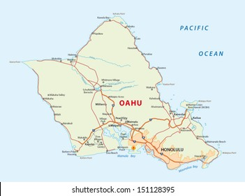 picture relating to Oahu Map Printable identify Hawaii Map Visuals, Inventory Pictures Vectors Shutterstock