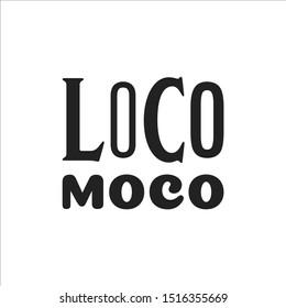 Hawaiian Loco Moco, Food Name, Hawaiian Menu, Food, Breakfast Name, Hawaiian Culture, Islands Vector Illustration