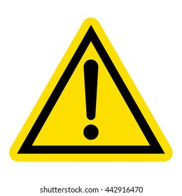 Hazard warning sign
