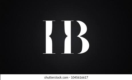 HB Letter Logo Design Template Vector
