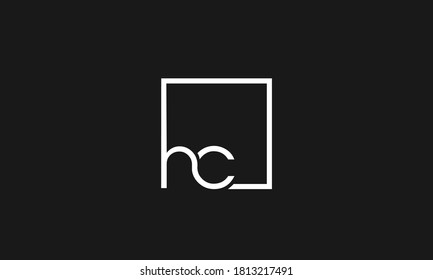 HC ,CH,H,C  Abstract Letters Logo Monogram