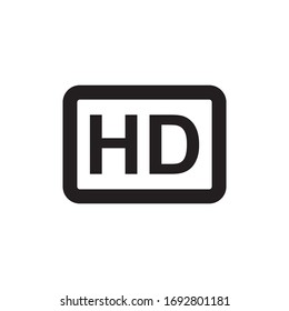 HD ICON , VIDEO QUALITY ICON