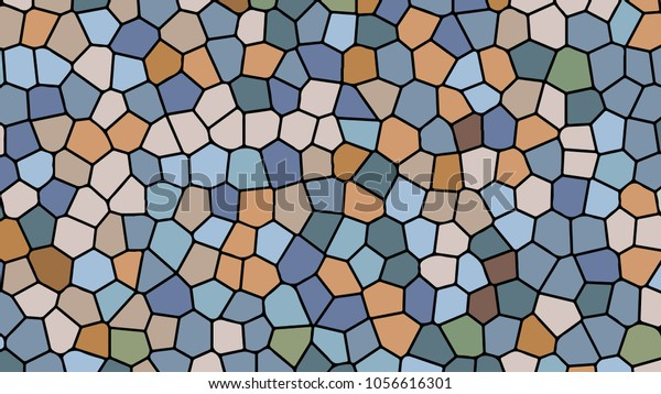 Hd Mosaic Geometric Wallpaper Desktop Background Stock