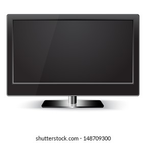 HD Television. Isolated