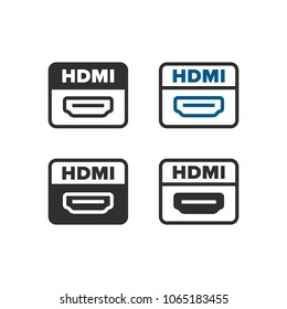Hdmi Icon Images, Stock Photos & Vectors | Shutterstock