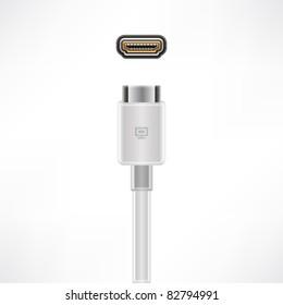 HDMI Video plug & socket