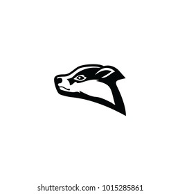 head badger logo vector