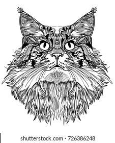 Cat Drawing Images Stock Photos Vectors Shutterstock