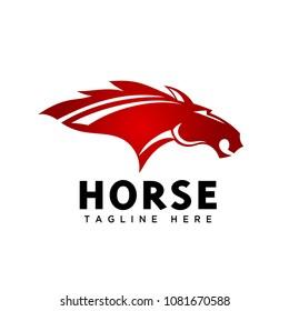 head horse sport logo
