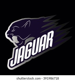 Head Jaguar professional logo for a club