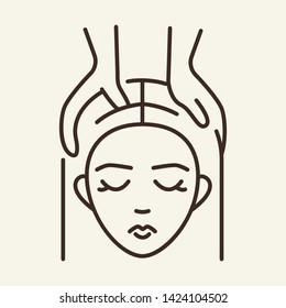 Head Massage Images, Stock Photos & Vectors | Shutterstock