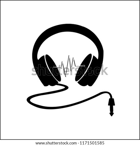 Head Phone Icon Stock Vector Royalty Free 1171501585
