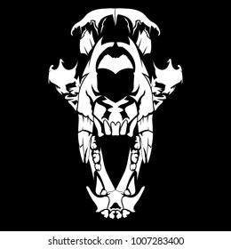 it's head skull animal