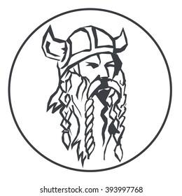 head of the viking