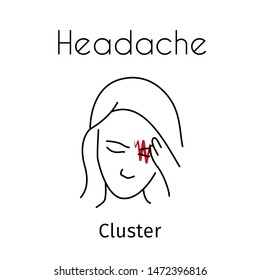 Cluster Headache Images, Stock Photos & Vectors | Shutterstock