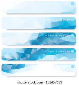 header banner website blue footer template ad business background vector web site header or flag series header banner website blue footer template ad business background vector star crowd texture colo