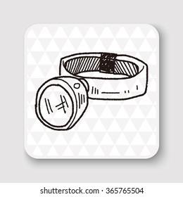 Headlamp doodle