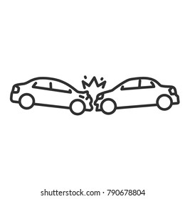 Car Accident Outline Images Stock Photos Vectors Shutterstock