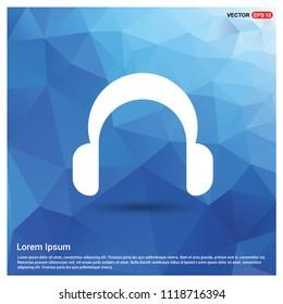 Headphone icon - Free vector icon