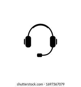 Headphone icon, Headphone sign and symbol vector design