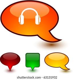 Dessin Casque Audio casque audio dessin images, stock photos & vectors | shutterstock