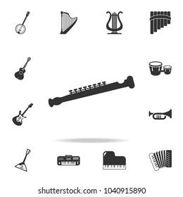headphones icon. Detailed set icons of Music instrument element icons. Premium quality graphic design. One of the collection icons for websites, web design, mobile app on white background