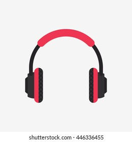 Headphones Icon, Music Vector
