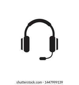 headset headphone icon vector illustration