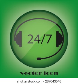 headset, twenty four ,seven